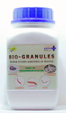 Neem tree granules for use in organic production